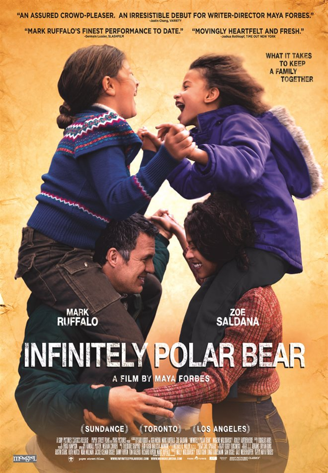 Infinitely Polar Bear Large Poster