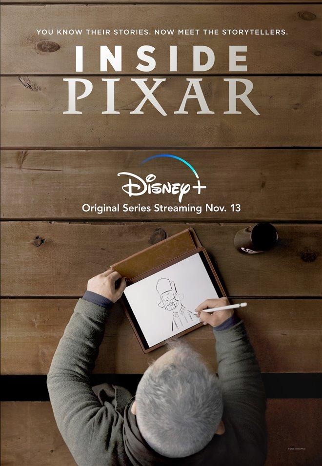 Inside Pixar (Disney+) Large Poster