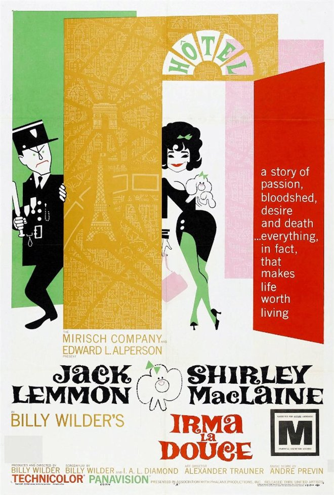Irma La Douce Large Poster