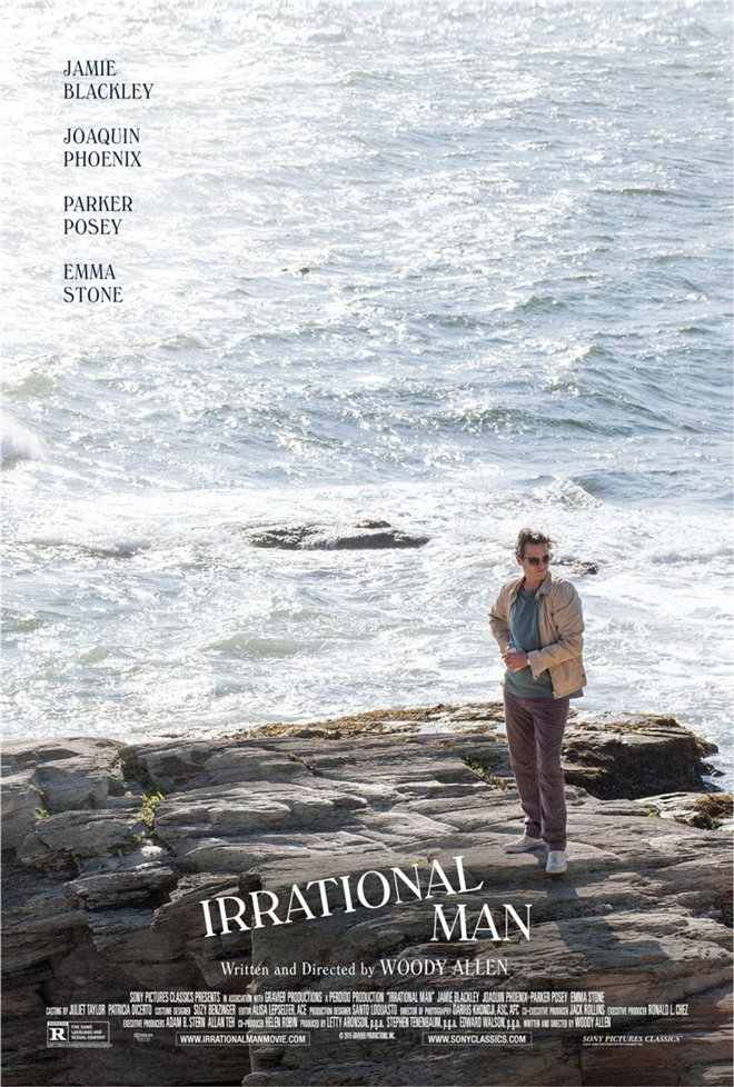 Irrational Man Large Poster