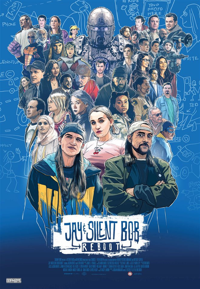Jay and Silent Bob Reboot Large Poster
