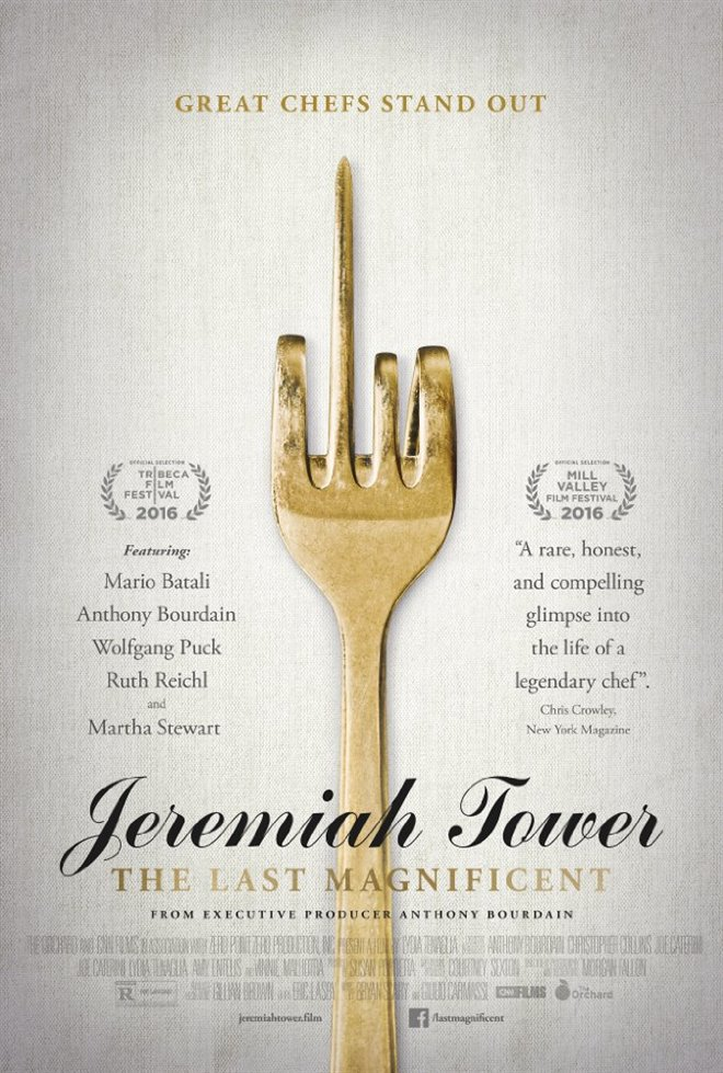Jeremiah Tower: The Last Magnificent Large Poster