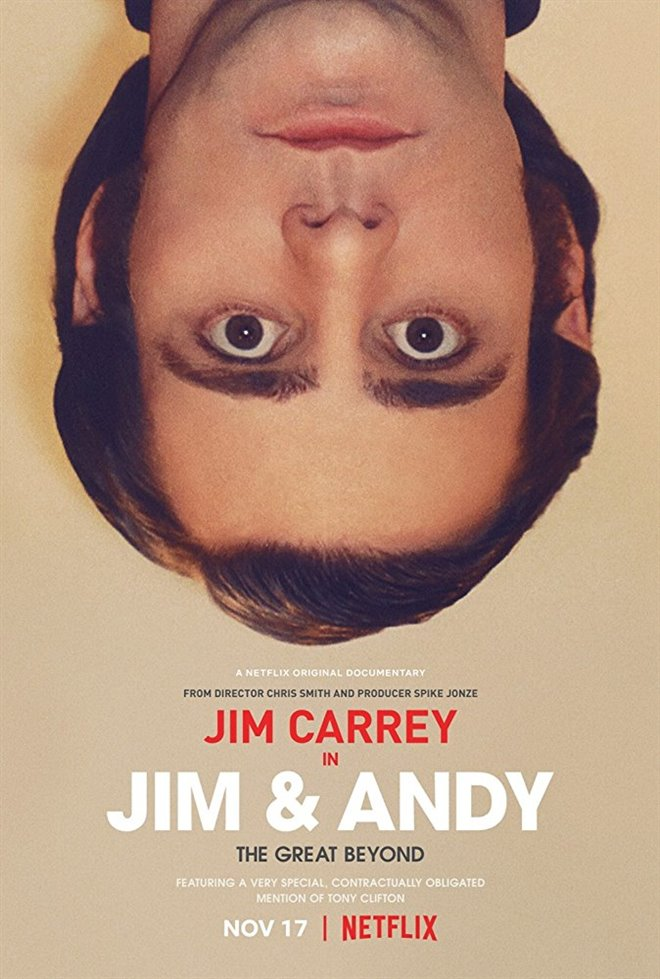 Jim & Andy: The Great Beyond - Featuring A Very Special, Contractually Obligated Mention of Tony Clifton Large Poster