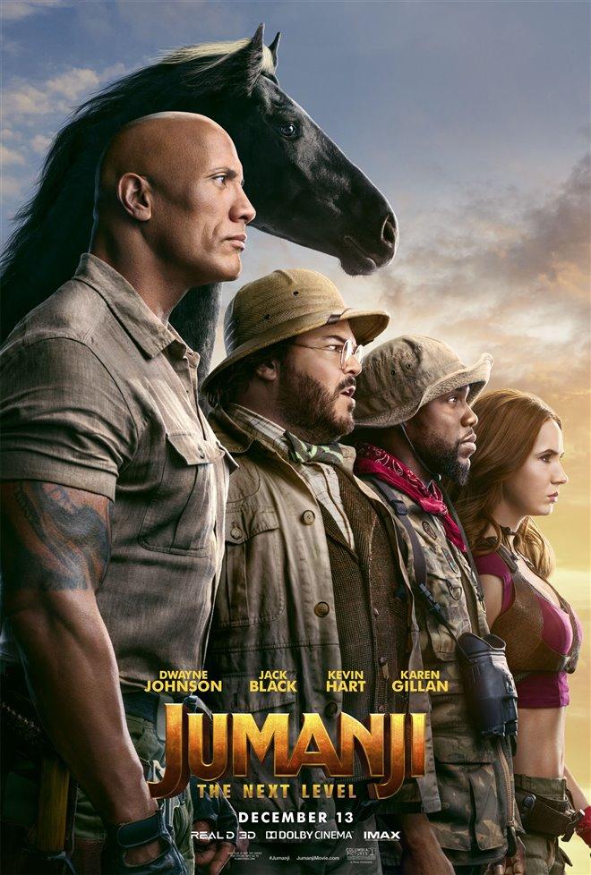 Jumanji: The Next Level Large Poster