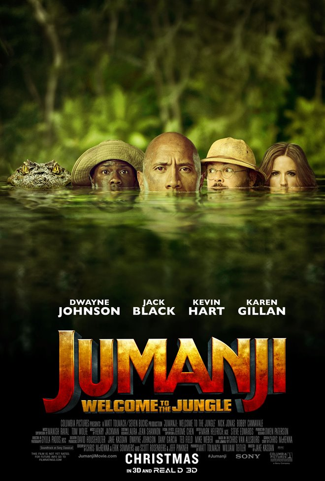 Jumanji: Welcome to the Jungle Large Poster