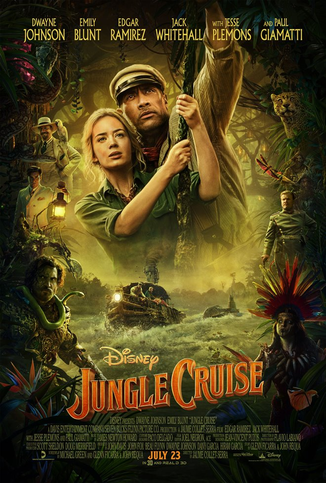 Jungle Cruise Large Poster