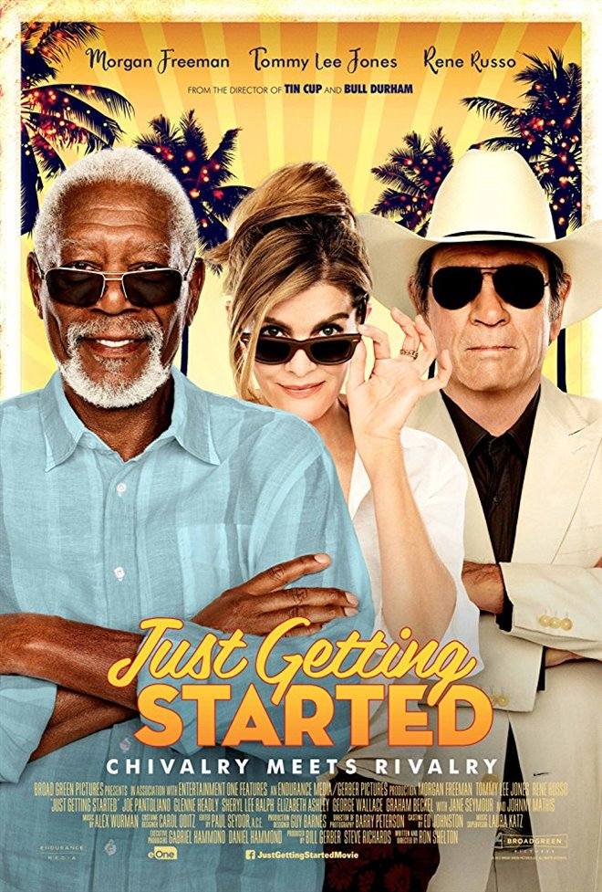 Just Getting Started Large Poster