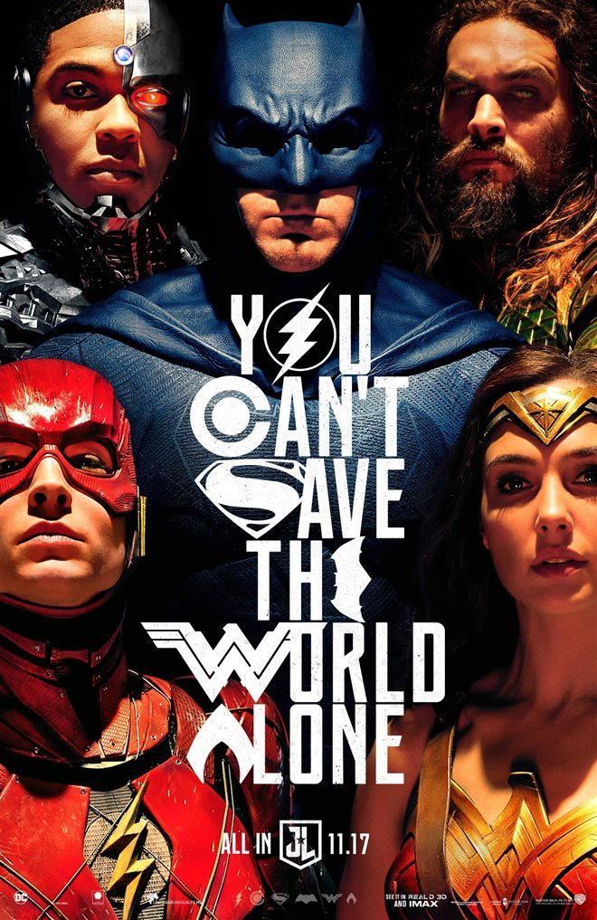 Justice League Large Poster