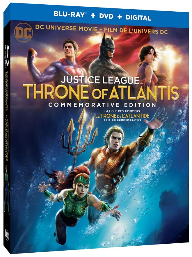 Justice League: Throne of Atlantis Large Poster