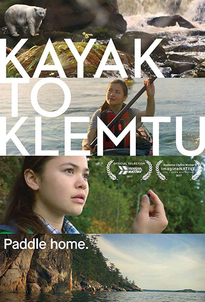 Kayak to Klemtu Large Poster
