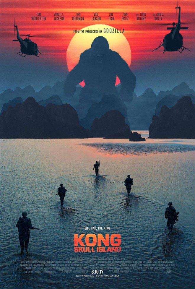 Kong: Skull Island Large Poster