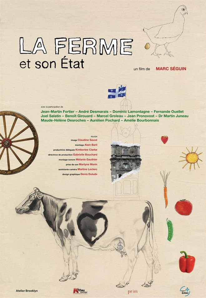 La ferme et son état Large Poster