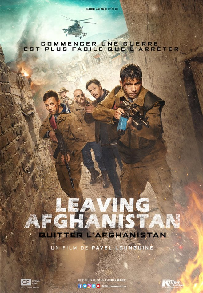 Leaving Afghanistan Large Poster