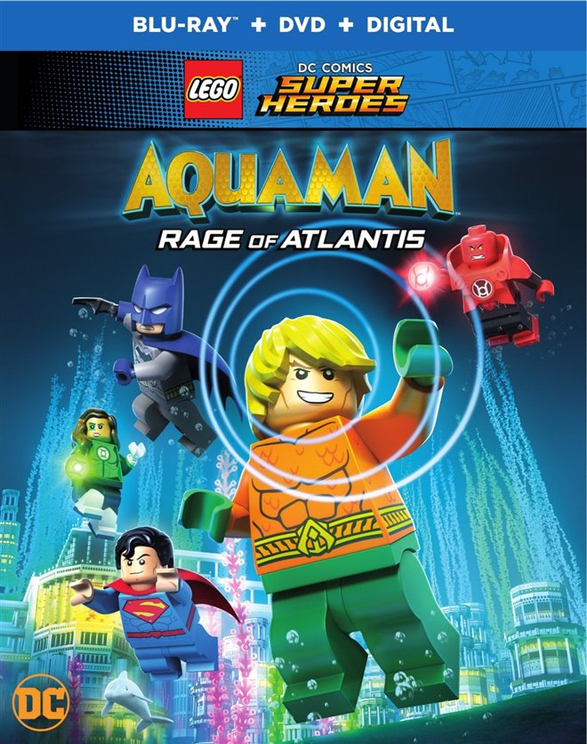 LEGO DC Comics Super Heroes: Aquaman - Rage of Atlantis Large Poster