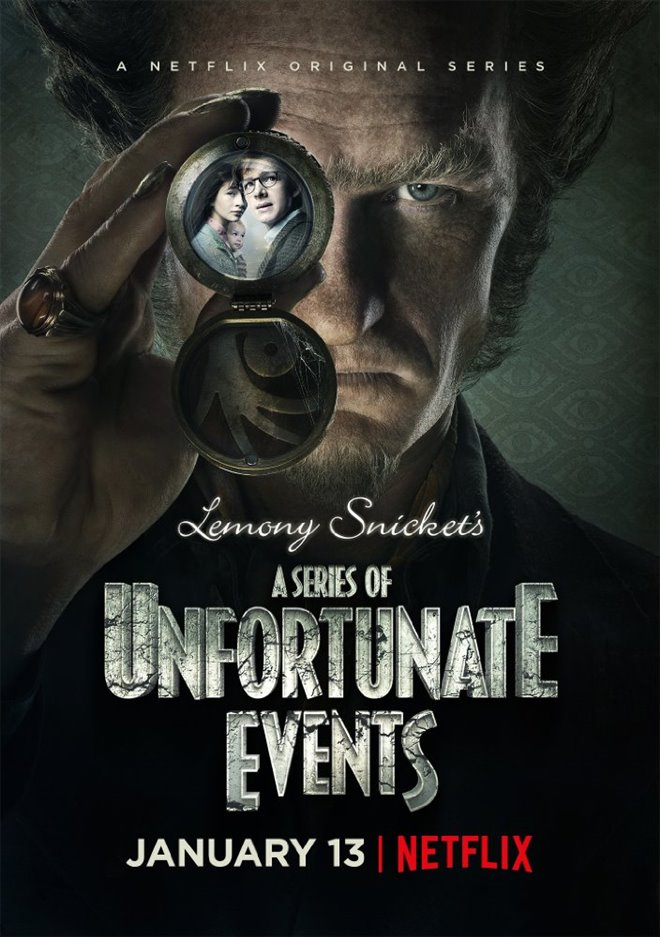 Lemony Snicket's A Series of Unfortunate Events (Netflix) Large Poster