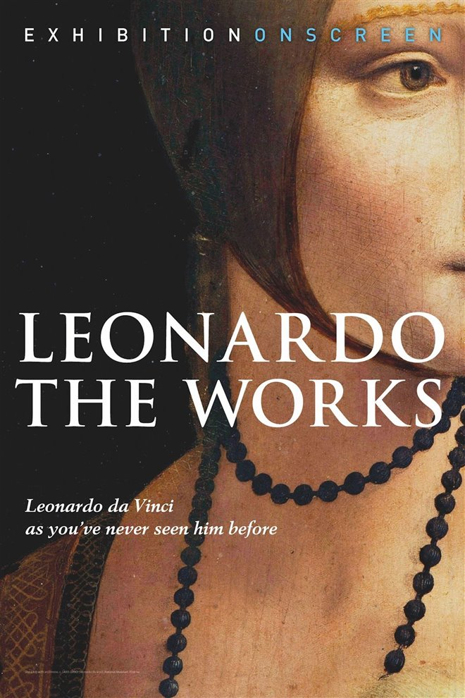 Leonardo: The Works Large Poster