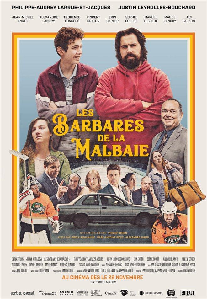 Les barbares de La Malbaie Large Poster