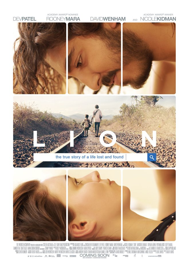 Lion Large Poster
