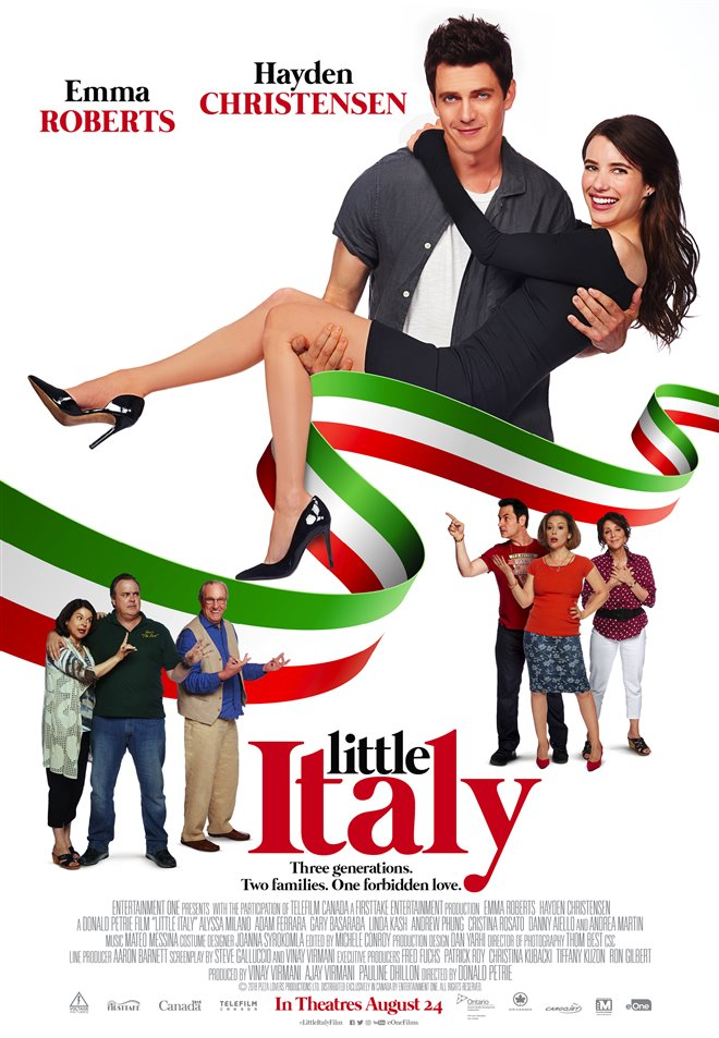 Little Italy Large Poster