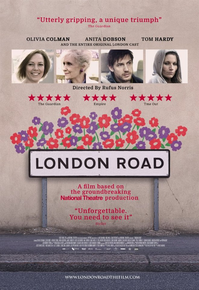 London Road Large Poster