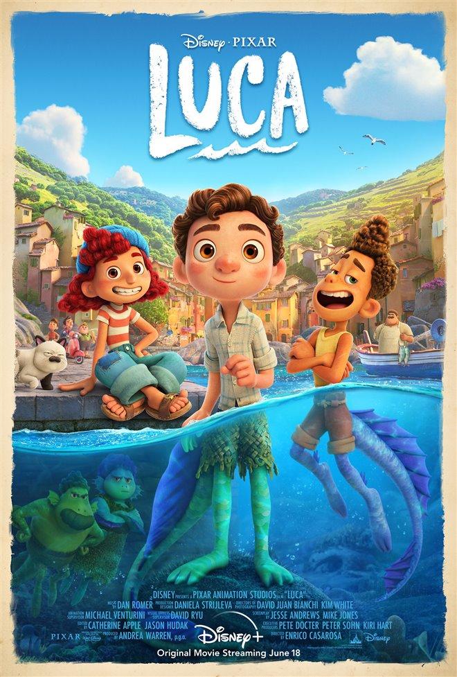 Luca (Disney+) Large Poster