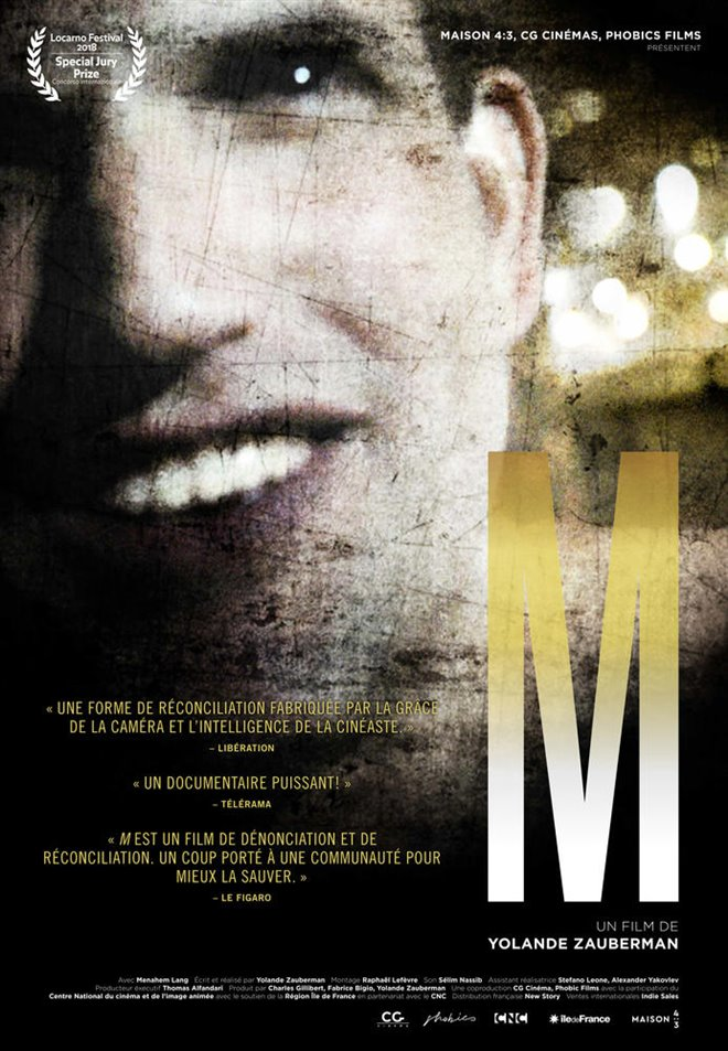 M Large Poster