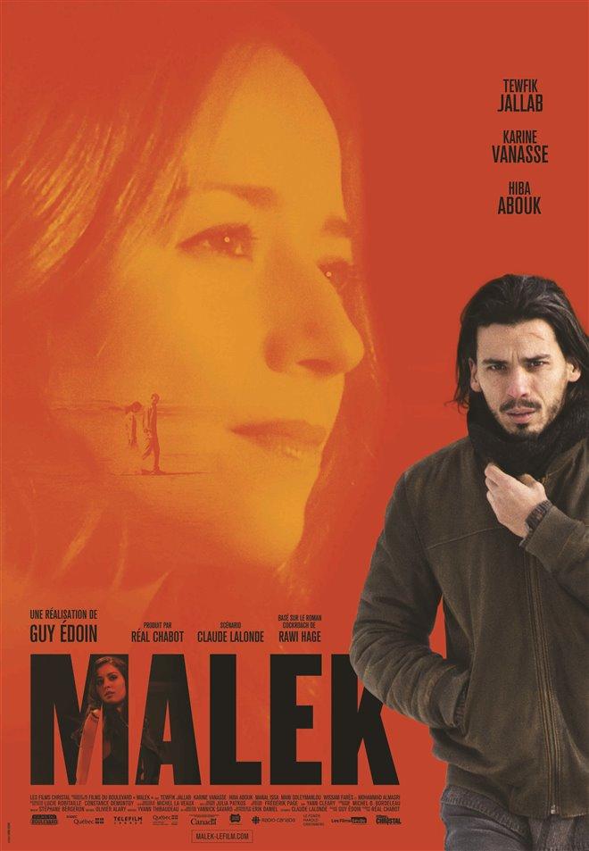 Malek Large Poster