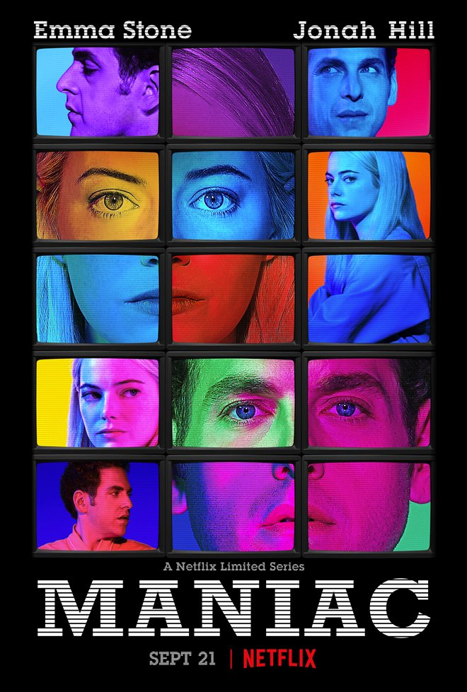 Maniac (Netflix) Large Poster