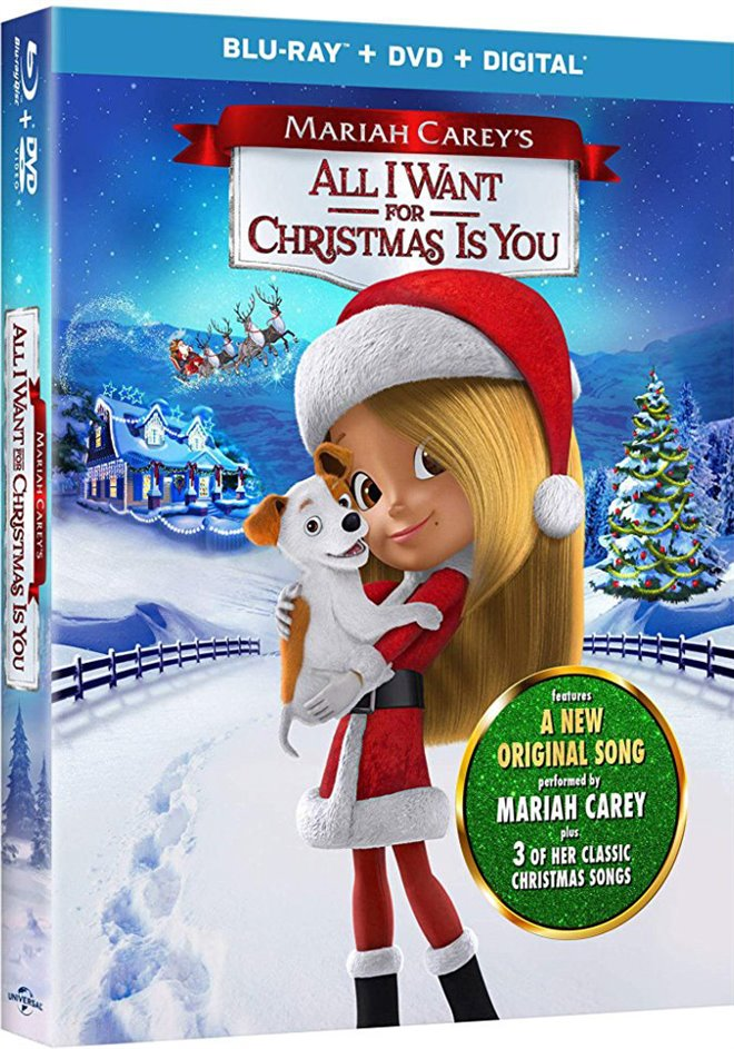 mariah careys all i want for christmas is you movie poster - All I Want For Christmas Cast