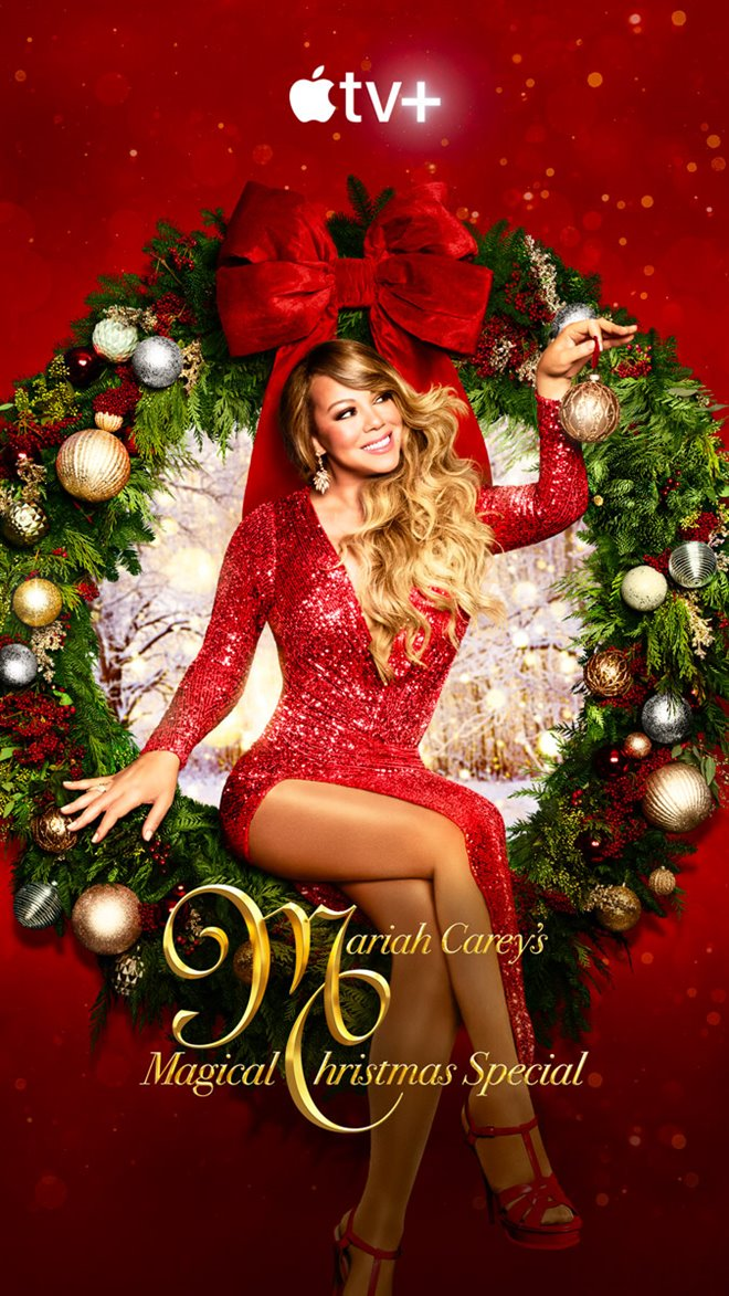 Mariah Carey's Magical Christmas Special  (Apple TV+) Large Poster