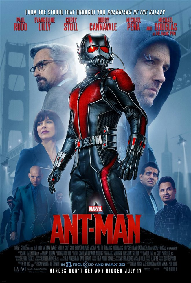 Marvel Studios 10th: Ant-Man (IMAX 3D) Large Poster