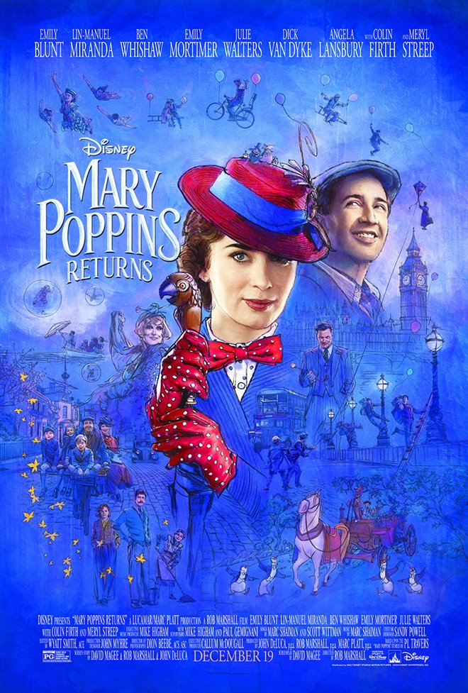 Mary Poppins Returns Large Poster