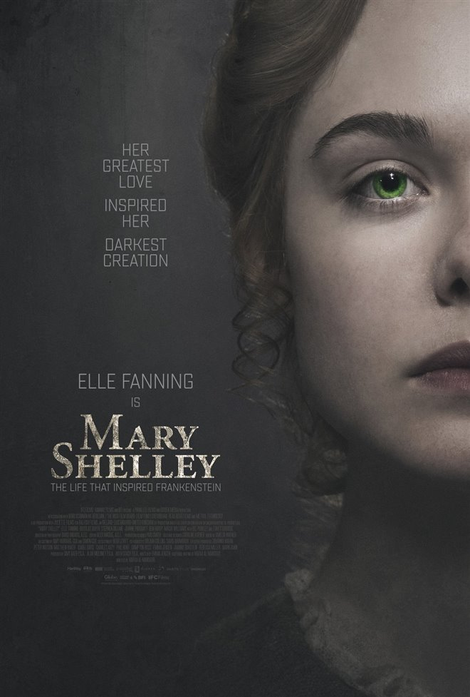 Mary Shelley Large Poster
