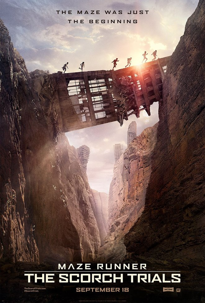 Maze Runner: The Scorch Trials Large Poster
