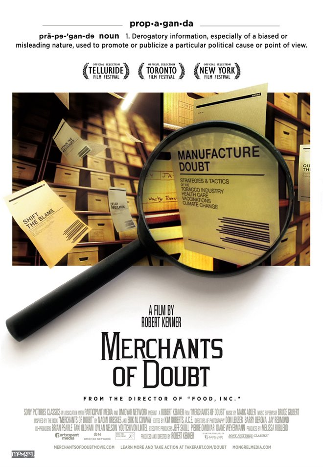 Merchants of Doubt Large Poster
