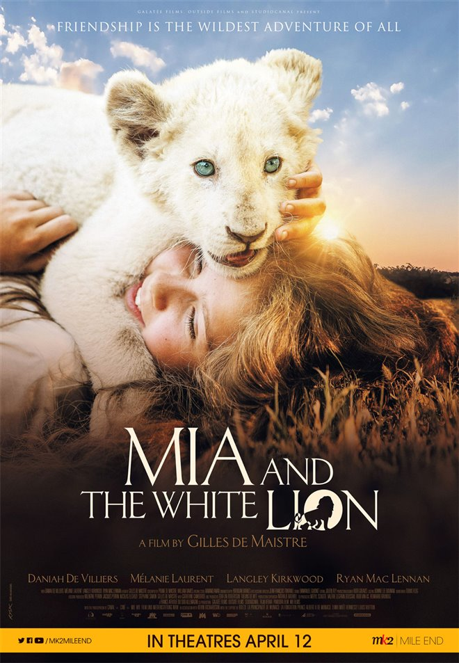 Mia and the White Lion Large Poster