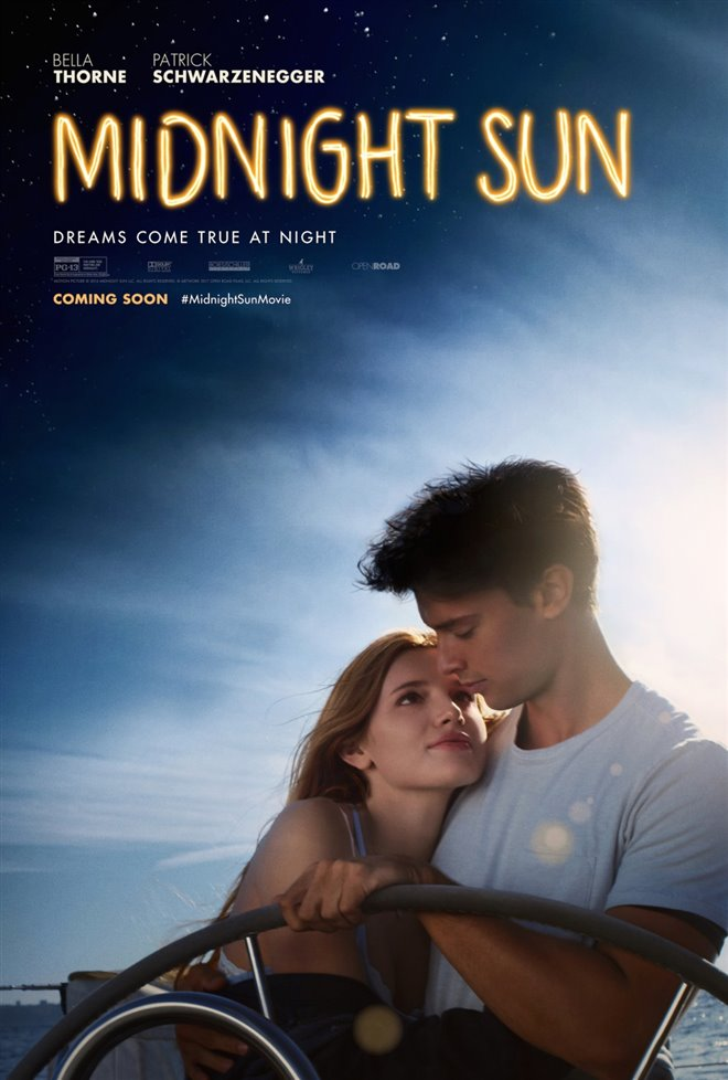 Midnight Sun Large Poster