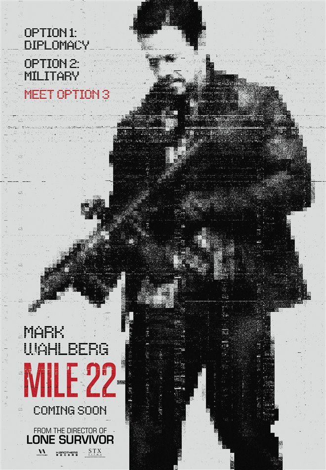 Mile 22 Large Poster