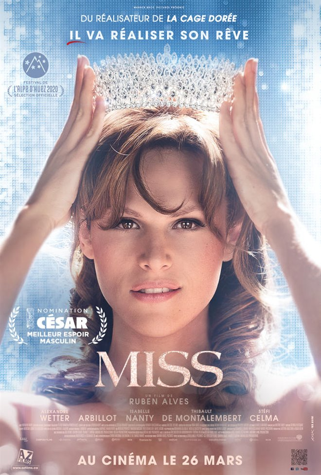 Miss Large Poster