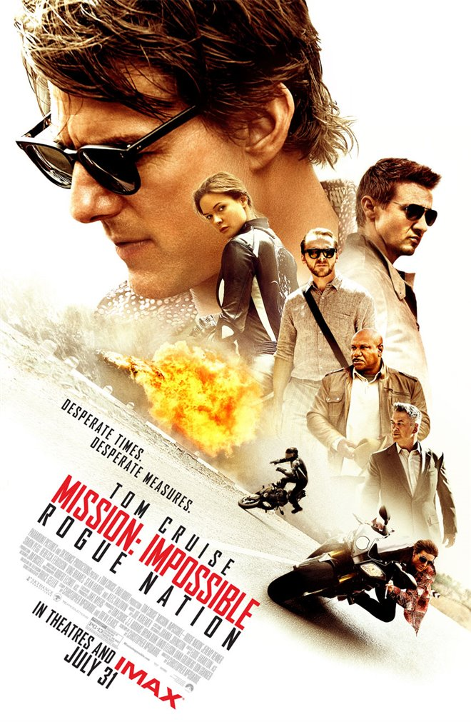 Mission: Impossible - Rogue Nation Large Poster