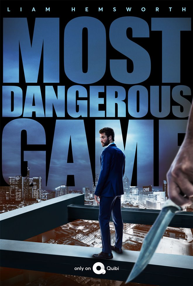 Most Dangerous Game (Quibi) Large Poster