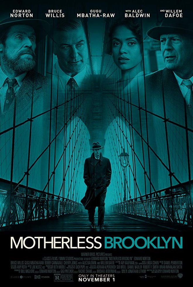 Motherless Brooklyn Large Poster