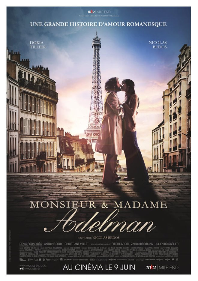 Mr & Mme Adelman Large Poster