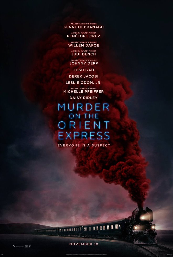 Murder on the Orient Express Large Poster