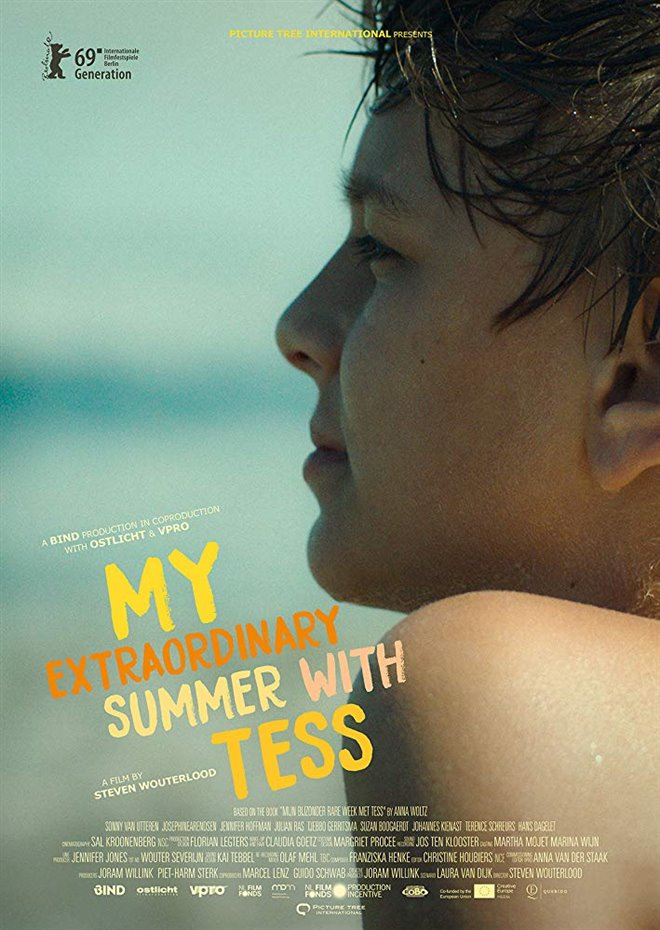 My Extraordinary Summer with Tess Large Poster