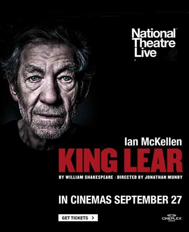 National Theatre Live: King Lear Large Poster