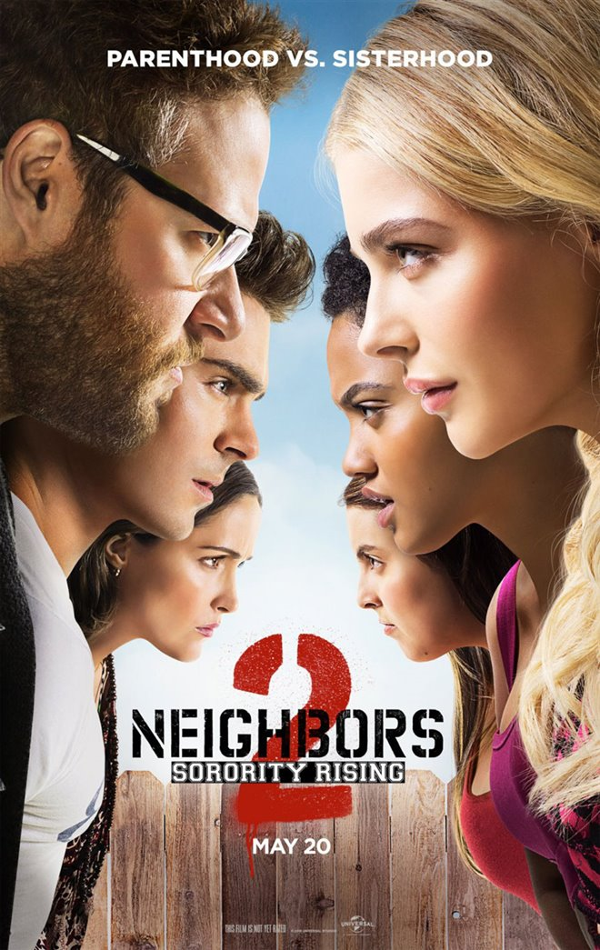 Neighbors 2: Sorority Rising Large Poster