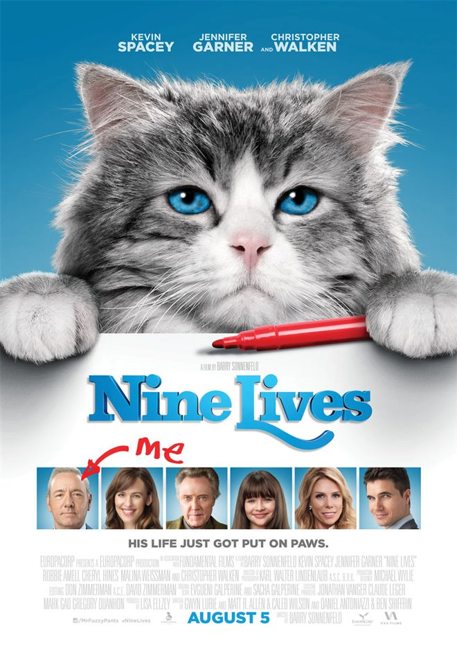 Nine Lives Large Poster