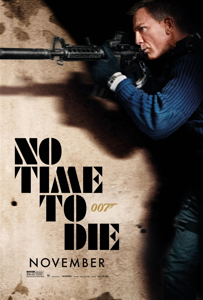 No Time to Die Large Poster
