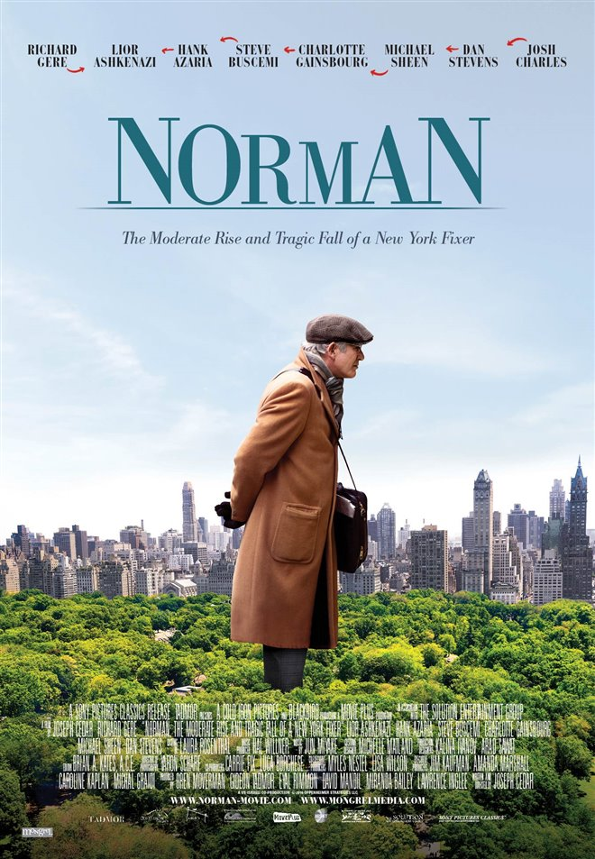 Norman: The Moderate Rise and Tragic Fall of a New York Fixer Large Poster